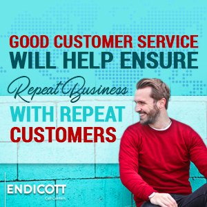 Good Customer Service Will Help Ensure Repeat Business With Repeat Customers