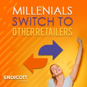 Millennials Switch to Other Retailers