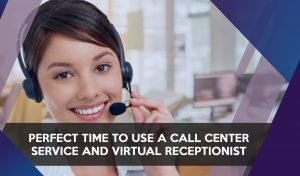 Virtual receptionist ready to answer calls