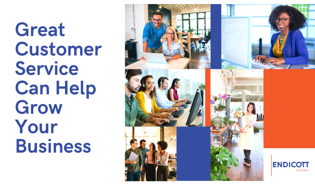 Grow your business with great customer service