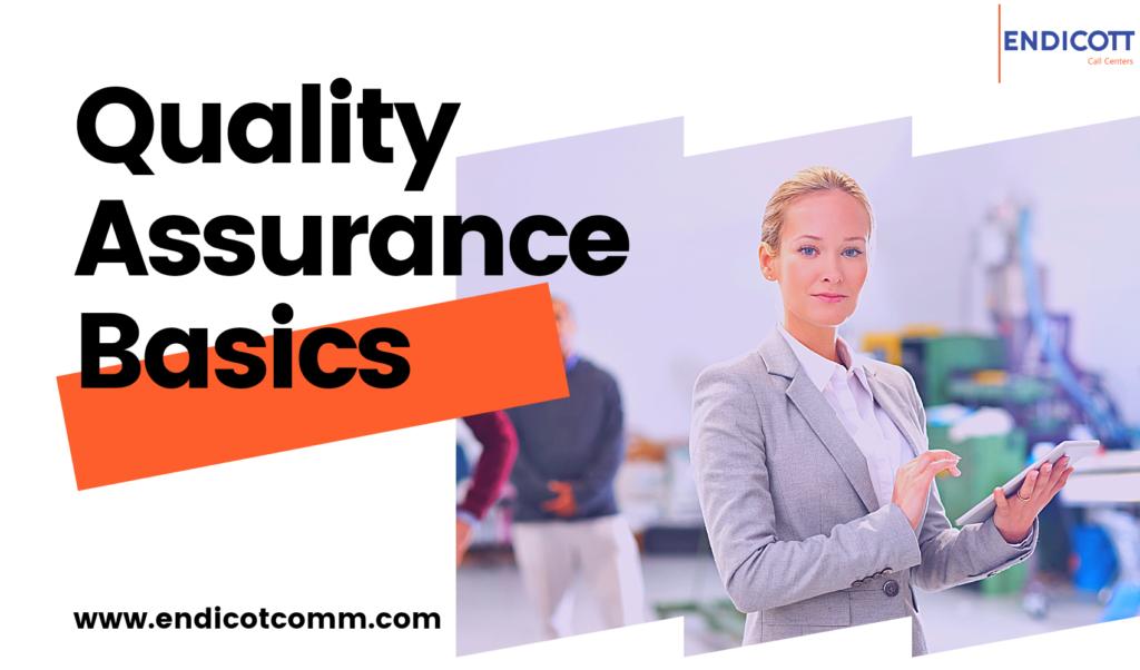 Quality Assurance Basics