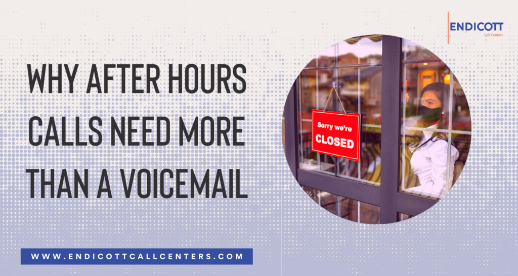 Why Voicemail is Not an Effective Solution for After Hours Calls