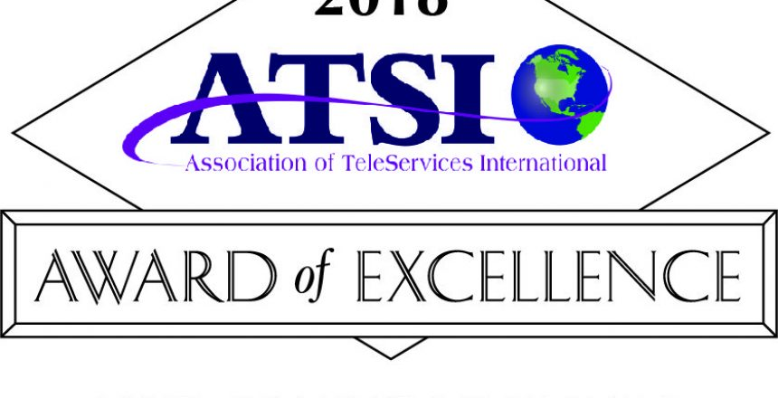 2018 ATSI award of excellence two consecutive years
