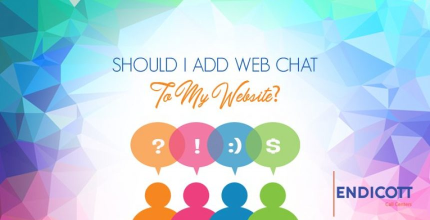 should I add web chat to my website